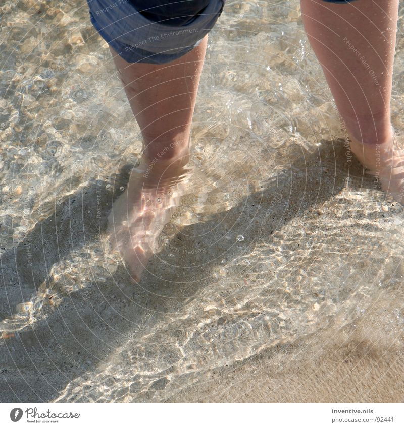 Water Ocean Summer Beach Feet Lake Sand Waves Going Walking Wet Bathroom To go for a walk Swimming & Bathing Spain South