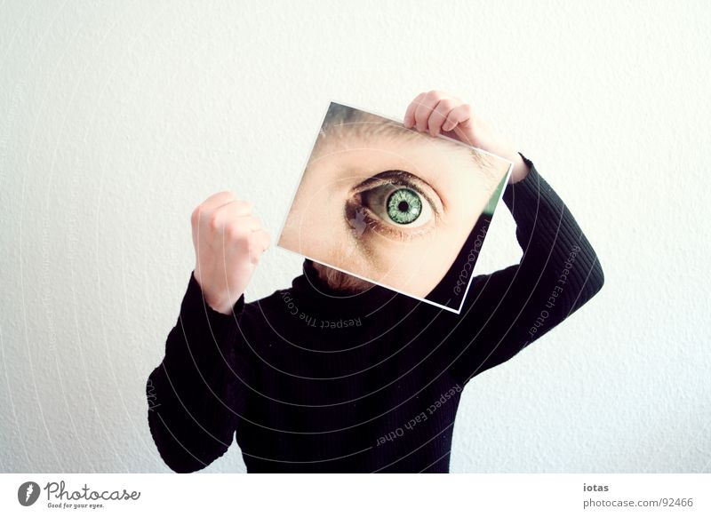 Man Joy Eyes Head Planning Might Hand Aggression Deception Gesture Fist Threaten Menacing
