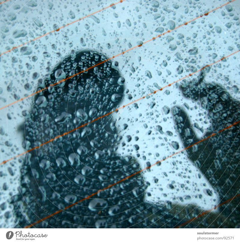 Water Hand Head Car Rain Glass Wet Car Window Drops of water Crazy Mirror Cap Damp Cigarette Tilt Heater