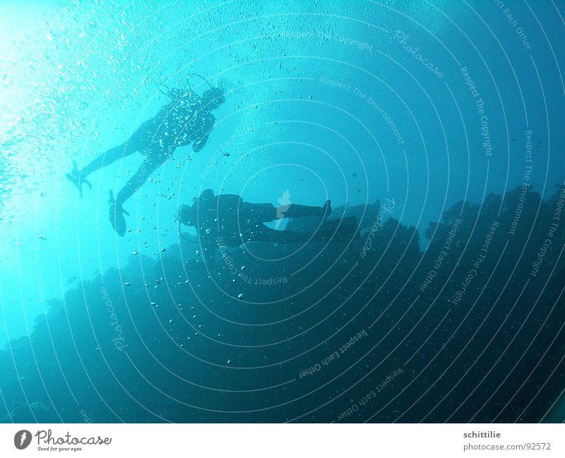 DeepBlueSea Diver Ocean Air Light Aquatics Man Water Blow Sun