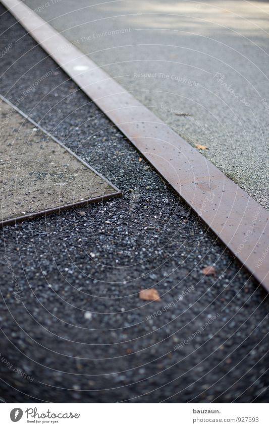 Street Lanes & trails Gray Stone Line Garden Sand Metal Park Concrete Stripe Cycling Traffic infrastructure Pedestrian