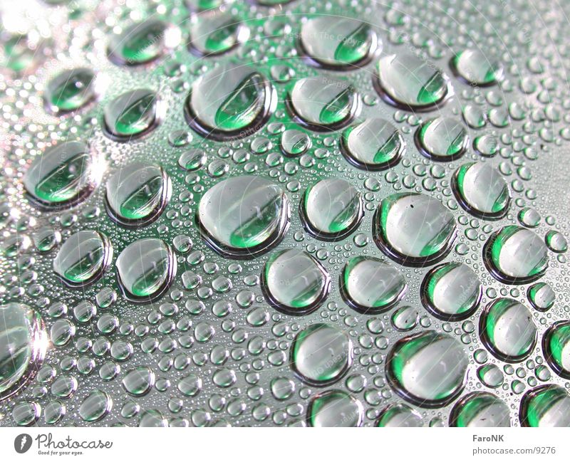 Water Rain Drops of water