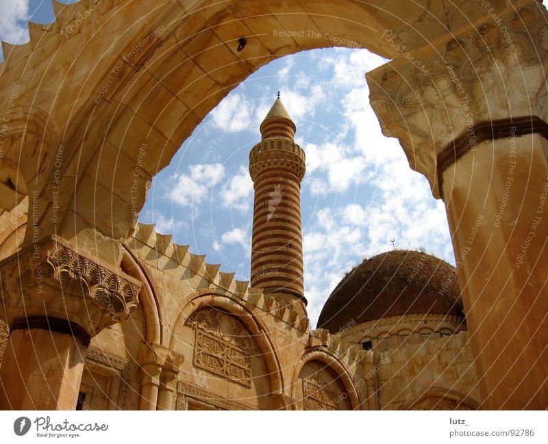 Asia Historic Ruin Turkey Islam Palace Mosque House of worship Minaret Harem