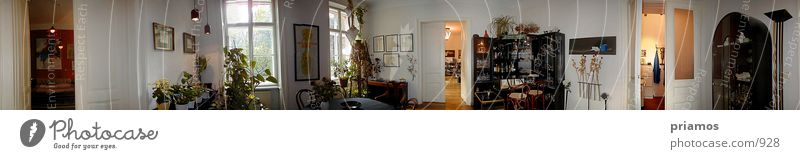 Dining room Pano Flat (apartment) Architecture 360° panorama