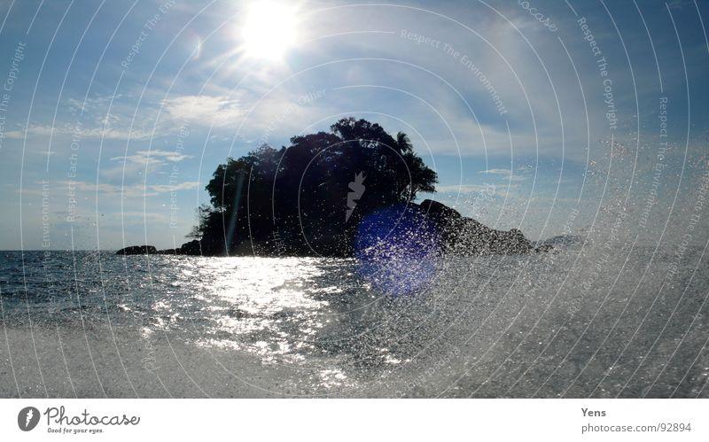Water Sky Sun Ocean Blue Island