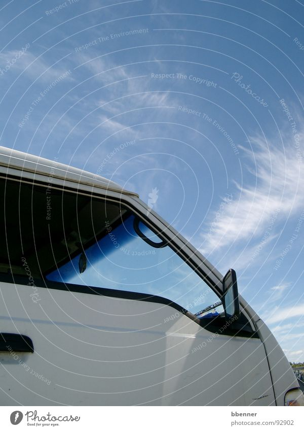 Sky Summer Vacation & Travel Clouds Window Car Bus Window pane