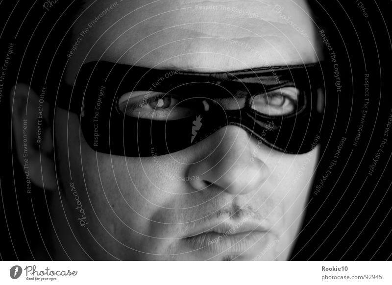 Man White Black Dark Moody Mask Carnival Hide Evil Hero Noble Thief Carnival costume Attractive Graceful Self-confident