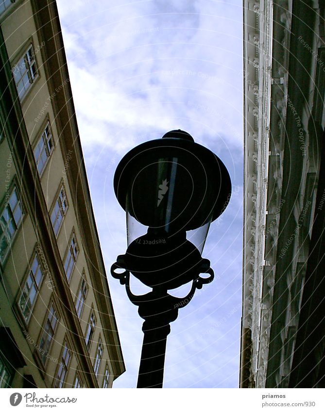 Lamp Building Architecture Perspective Street lighting Light and shadow