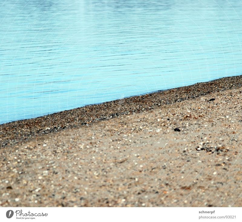 Water Ocean Blue Beach Calm Loneliness Cold Lake Sand Line Waves Wet Success Empty Gloomy River