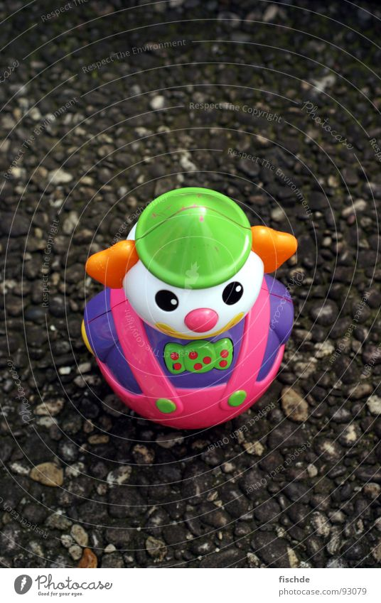 Loneliness Street Small Infancy Asphalt Toys Statue Obscure Clown Exposed