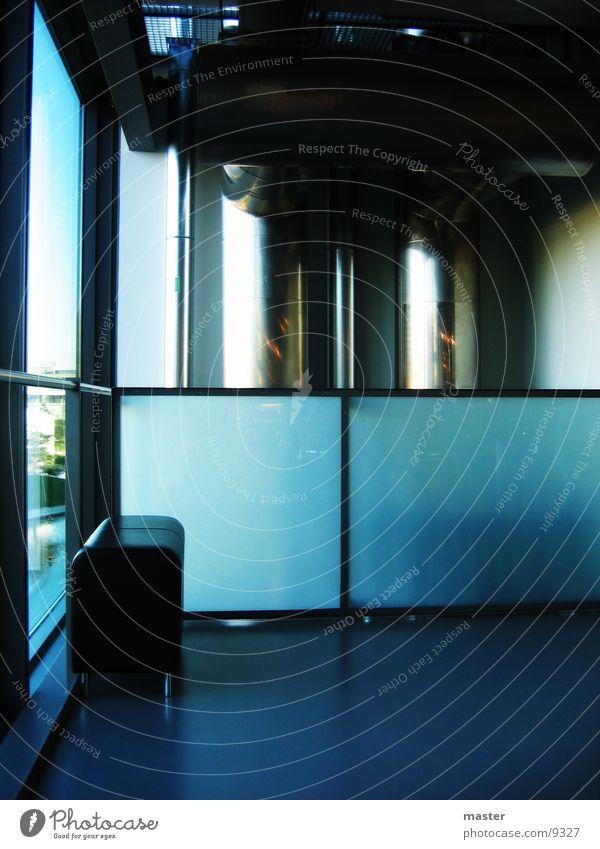 space Light Stool Window Architecture Room Blue