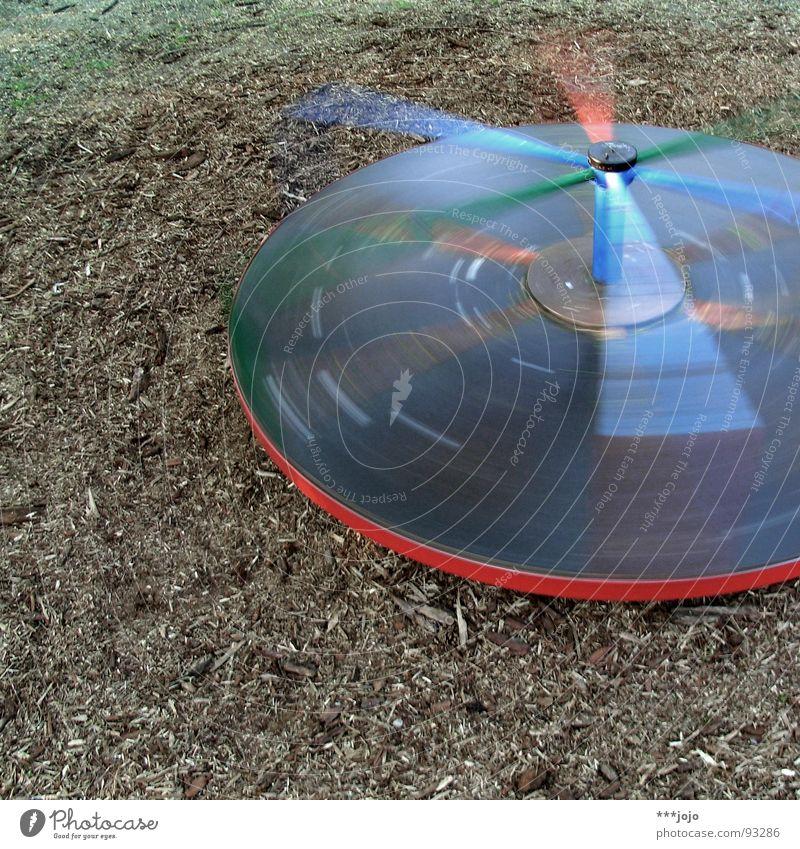 ufo. Playground Carousel Rotate Vertigo Giddy Round Playing UFO Aircraft Speed Centrifuge Leisure and hobbies Joy Dynamics felt dizzy in a circle Movement