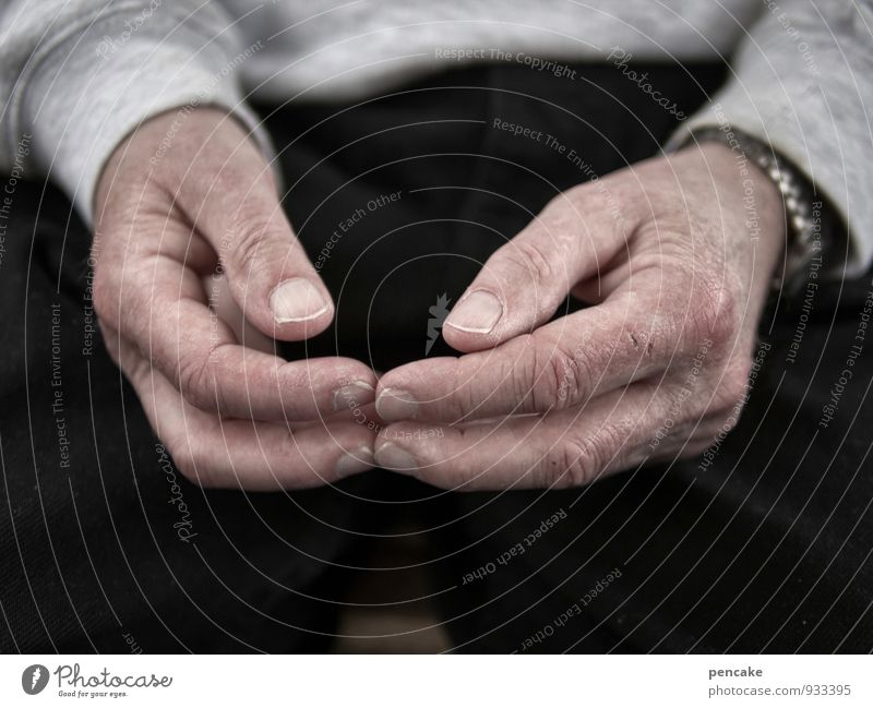 Loneliness Hand Black Sadness Senior citizen 60 years and older Wait Communicate Fingers Sign Posture Wrinkles Illness Boredom Gesture Comfortable