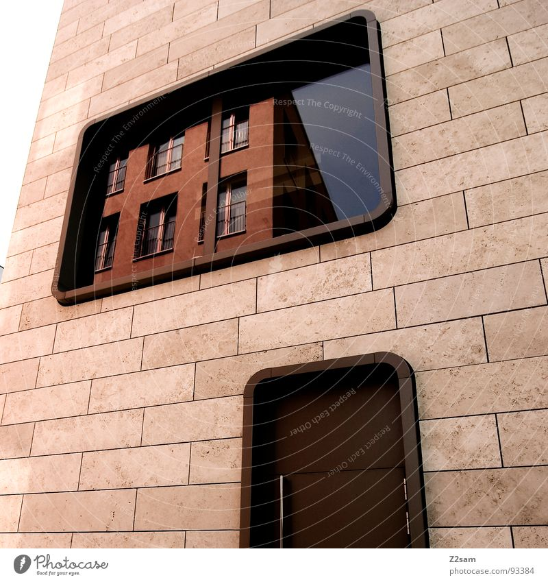 City House (Residential Structure) Colour Style Window Stone Warmth Glass Door Modern Round Simple Physics Mirror