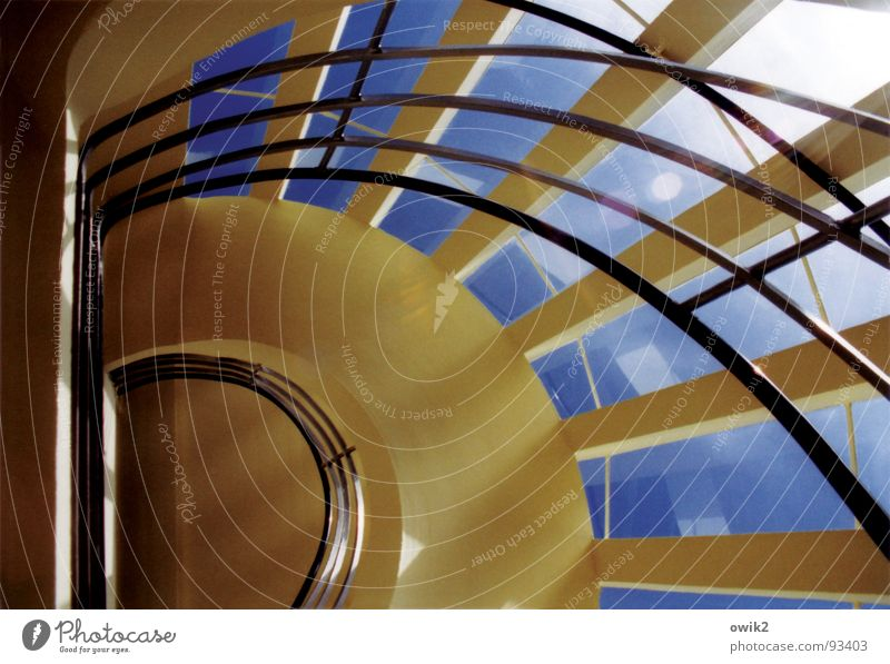 Curved lines Freedom Sightseeing Interior design Cloudless sky Beautiful weather House (Residential Structure) Tower Manmade structures Building Architecture