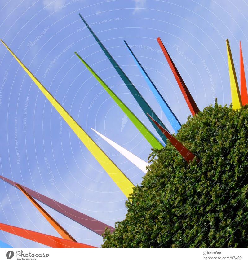Sky Tree Green Blue Vacation & Travel Spring Garden Park Art Bushes Trade fair Exhibition Fairy Thorn Public Holiday Hedge