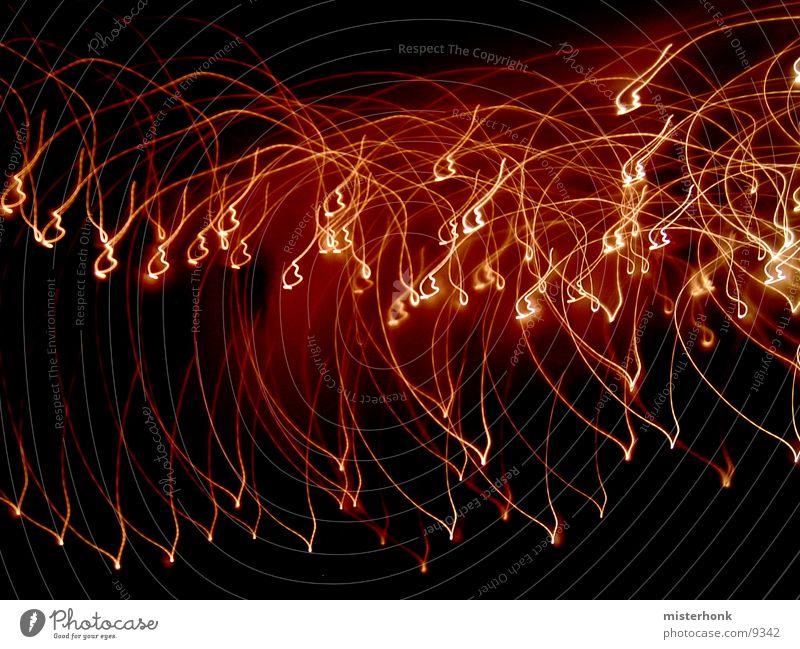 Lamp Dark Stripe Obscure Tails Flashy Sperm