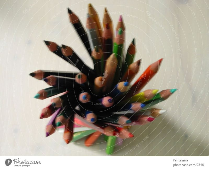 standing Crayon Photographic technology Colour