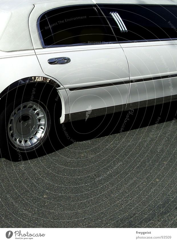 White Black Car Star (Symbol) Luxury Fame Important Limousine