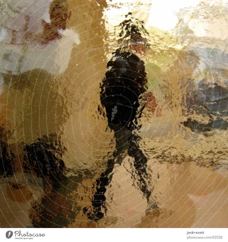 Human being Man Adults Emotions Lanes & trails Time Observe Change Serene Border Snapshot Passenger traffic Surrealism Inspiration Identity Flexible