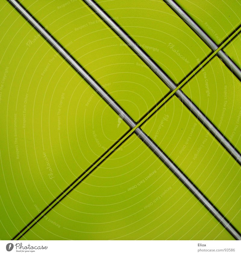 Green Colour Line Glittering Simple Square Boredom Diagonal Furrow Poison Graphic Flat Parallel Simplistic Bilious green