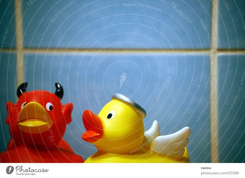 Angel Bathroom Duck Devil Squeak duck