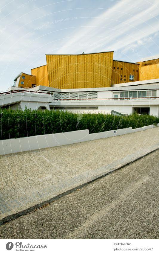 Summer Architecture Berlin Facade Music Modern Culture Event Capital city Landmark Concert Classical modern Hall Bauhaus Berlin Philharmonic