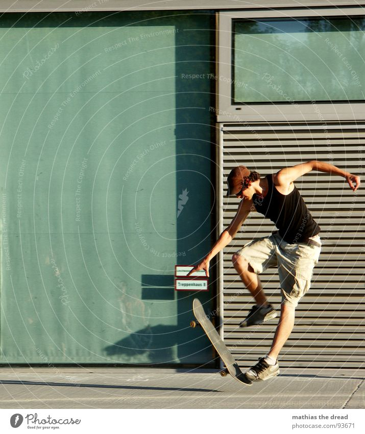 Man Red Joy Sports Wall (building) Jump Playing Movement Healthy Flying Concrete Free Action Aviation Dangerous Threat