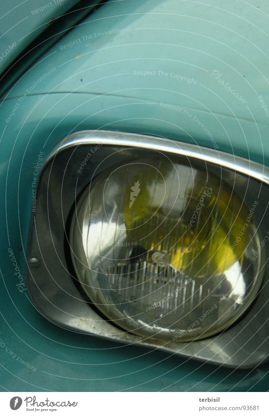 Blue view Charming Vintage car Light France Transport Duck citroen Floodlight Looking cv