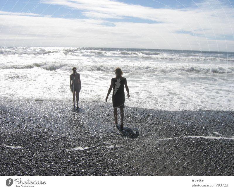 Sky Ocean Summer Beach Sand Wind USA Tide