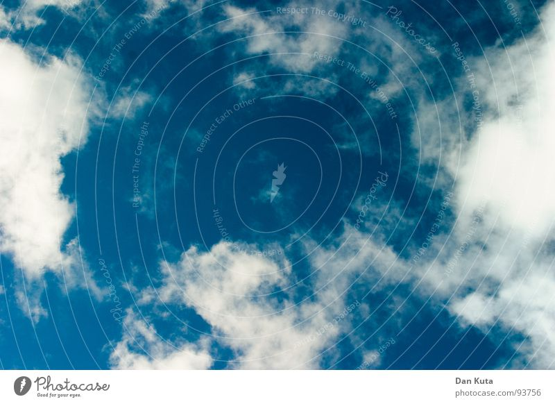 Sky Blue White Sun Summer Clouds Relaxation Above Freedom Dream Flying Delicate Turquoise Hover Flexible