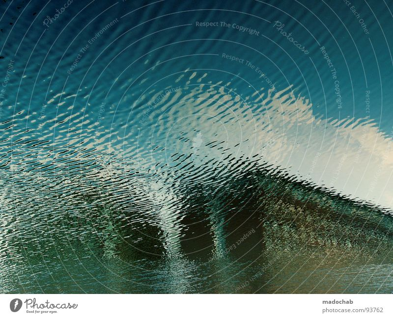 climate change House (Residential Structure) Abstract Building Go under High-rise Sky Clouds Waves Daydream Wet Ocean Fear Panic Water Climate High tide Deluge