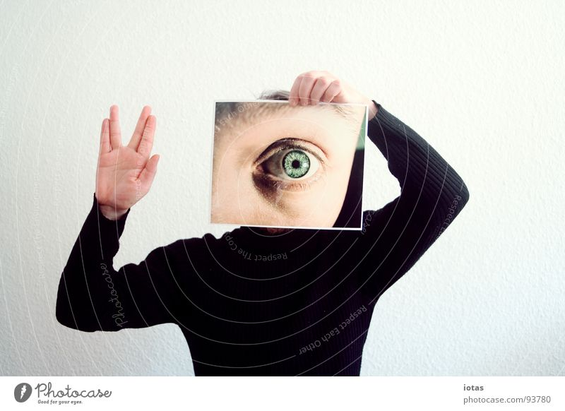 photo: first contact Looking Photography Welcome Perspective Abstract Gesture Search Eyewitness Roll-necked sweater Ingrain wallpaper Media Education Sign