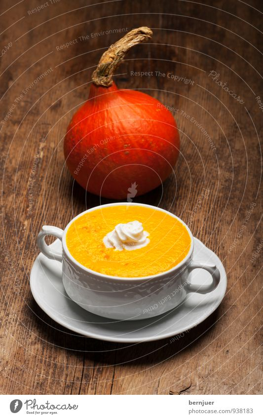 shark soup Food Vegetable Soup Stew Nutrition Dinner Bowl Eating Cheap Good Authentic Soup plate Pumpkin Pumpkin time Pumpkin soup Hokkaido Cream cream topping