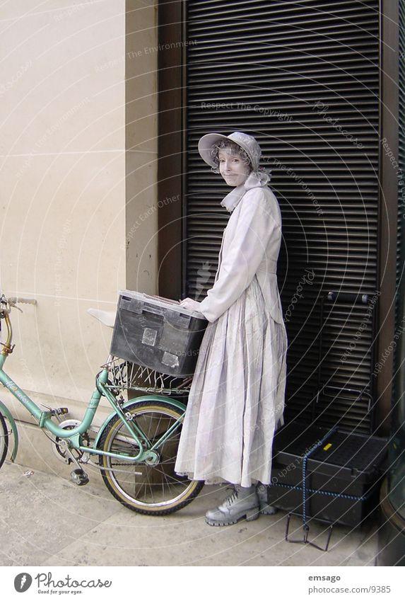 street artist Human being Street bicycle
