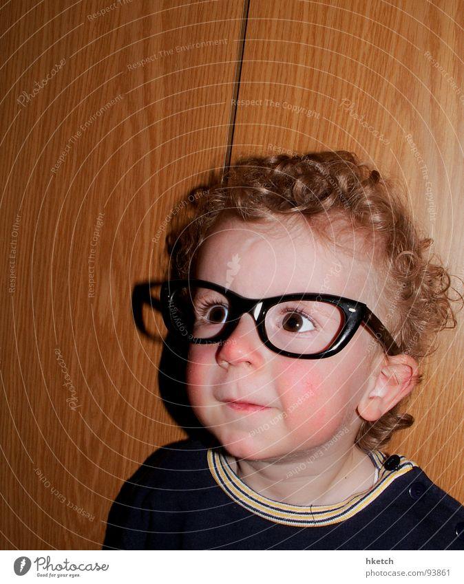 Child Face Eyes Funny Eyeglasses Observe Curiosity Toddler Concentrate Curl Snapshot Interest Smart Vista Marvel Pupil