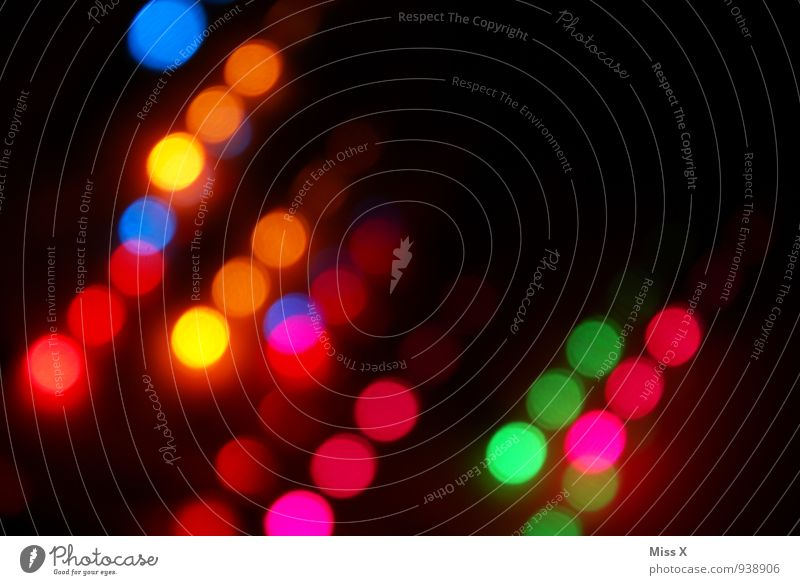 points Night life High-tech Energy industry Illuminate Multicoloured Lighting Fairy lights Firecracker Disco Club Point Colour photo Abstract Pattern Deserted