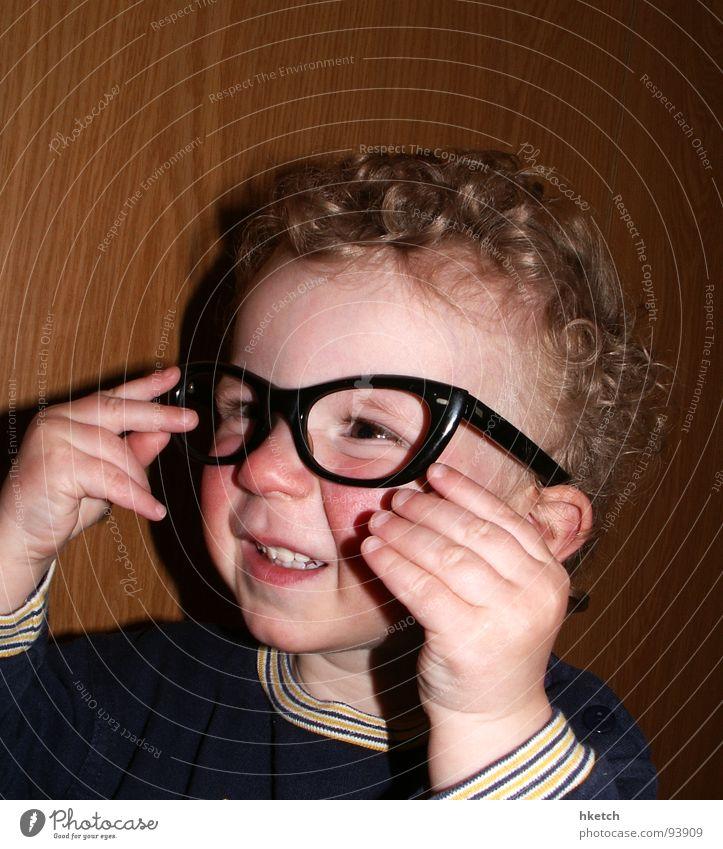 Child Face Eyes Funny Eyeglasses Observe Curiosity Concentrate Toddler Curl Snapshot Interest Smart Vista Alert Person wearing glasses
