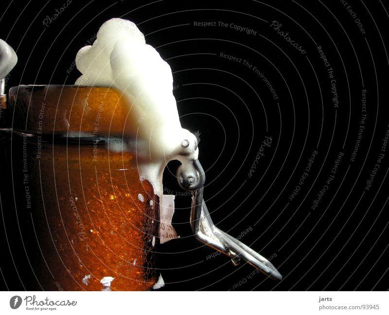 plop..... Beer Bottle of beer Foam Fresh Alcohol-fueled Hop Gastronomy Joy Alcoholic drinks Treetop To enjoy Feasts & Celebrations marks clip-on bottle jarts