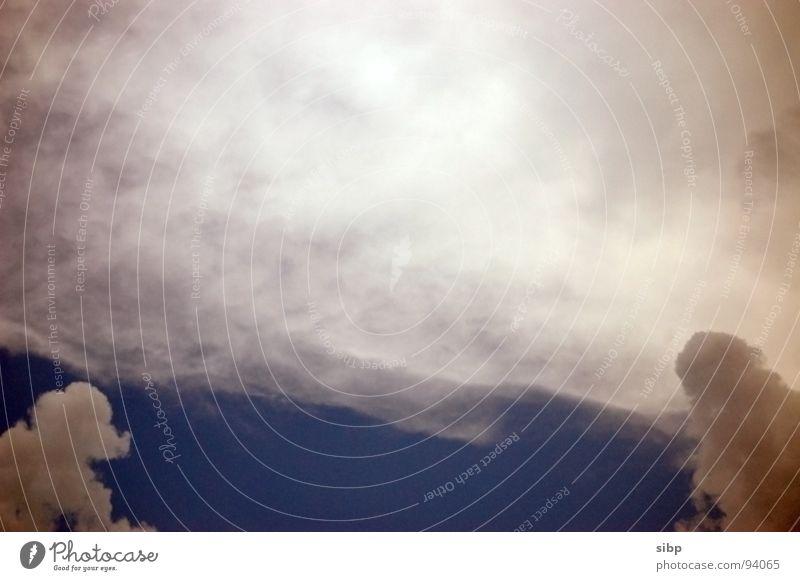 Sky Sun Blue Summer Clouds Hot Thunder and lightning Damp Storm Warning label Humidity Rising Storm warning