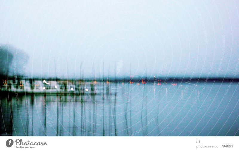 Water Blue Lake Line Coast Stick Mosquitos Buoy Good night