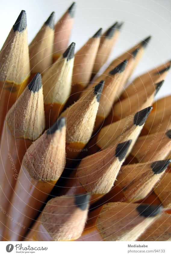 top employee(s) Pen Pencil Graphite Art Wood Yellow Accumulation Work and employment Agency Arts and crafts  Desk Painting (action, work) Draw Image Creativity