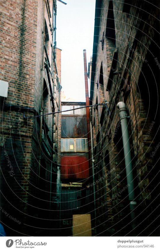 backyard London Backyard Narrow Dark Planning Lomography Farm Shabby Bright spot Pipe