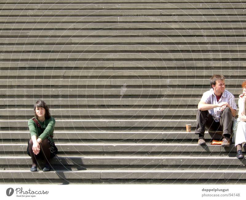 Lisa on the stairs Summer Vacation & Travel Break Calm Gendarmenmarkt Weekend Stairs Trip Town