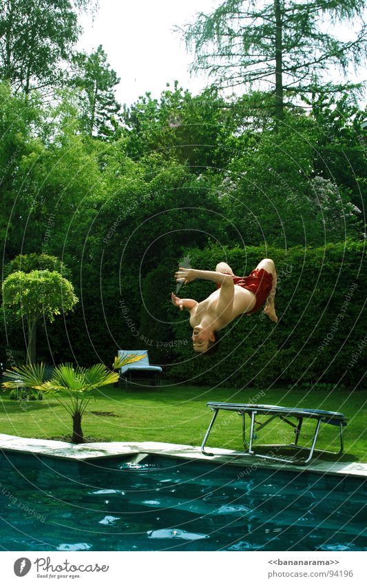 Summer Water Joy Garden Swimming & Bathing Flying Jump Air Wet Swimming pool Dive Refreshment Inject Refrigeration Trampoline