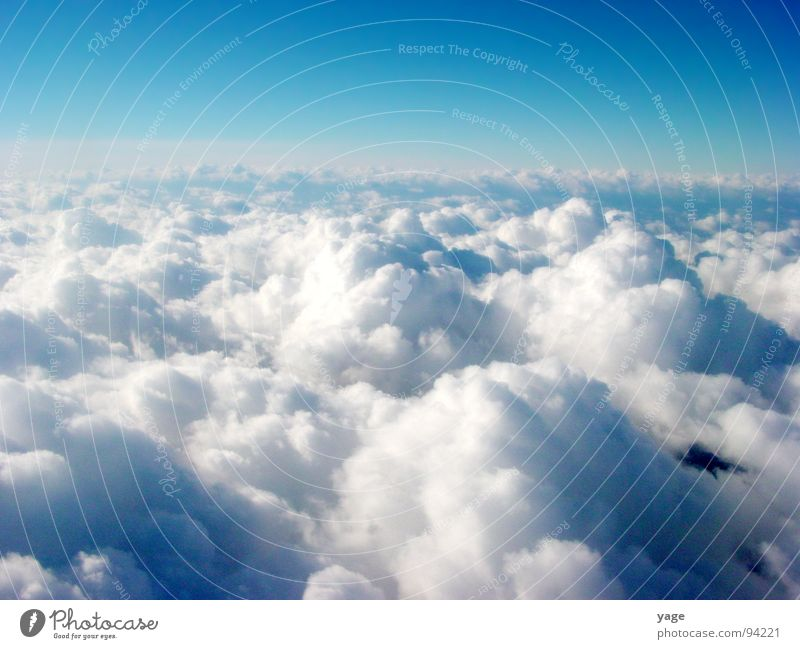 above the clouds Above the clouds Horizon Clouds Vantage point Bad weather Infinity Free Aviation Freedom