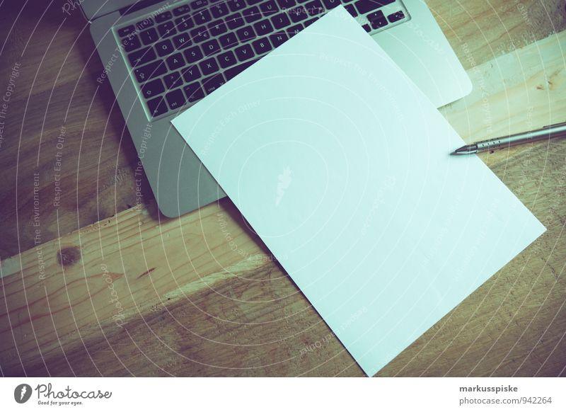 Office Idea Paper Retro Hip & trendy Desk Notebook Vintage Blank Designer
