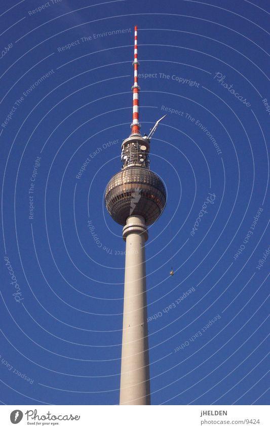 Berlin Architecture Tall Dangerous Tower Cleaning Monument Landmark Berlin TV Tower Alexanderplatz Vertigo Window cleaner Emotion design Unafraid of heights