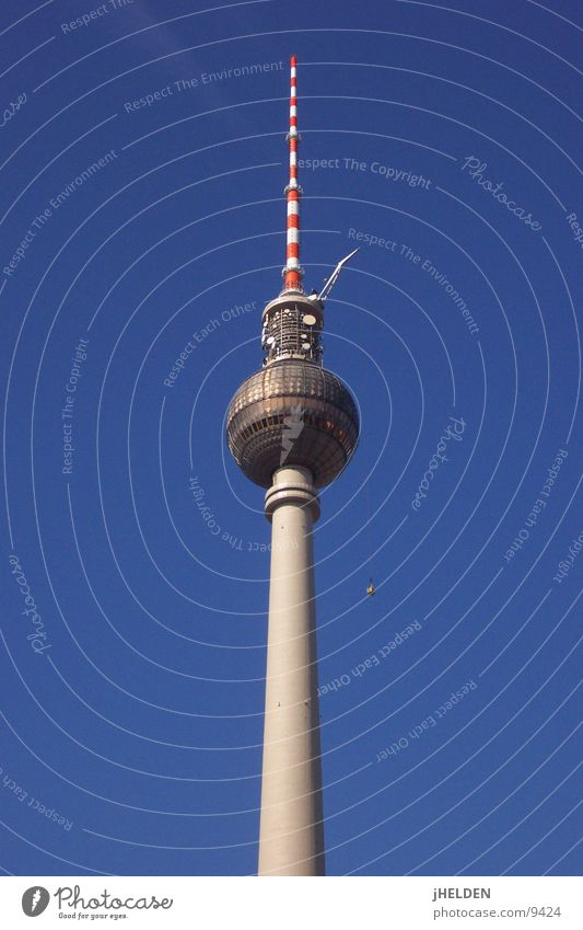 Berlin Architecture Tall Dangerous Tower Cleaning Monument Landmark Berlin TV Tower Alexanderplatz Vertigo Window cleaner Emotion design Unafraid of heights