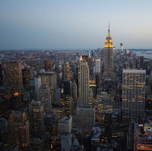 New York, New Tower Lifestyle Luxury Flat (apartment) Office Energy industry Company Career Success Architecture Capital city Port City Skyline